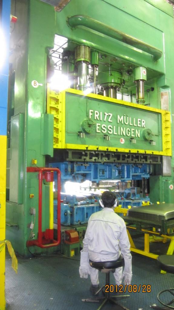 نصب و لوله کشی پاور هیدرولیک پرس 1200 تن
